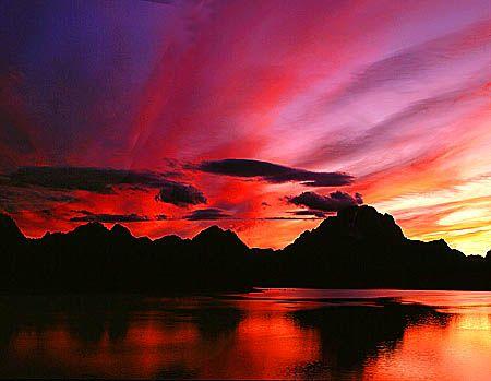 """фото """"...*****..."""" метки: пейзаж, закат, облака"""
