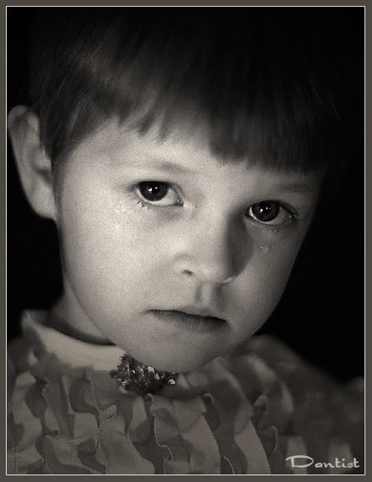 "фото ""Обида"" метки: портрет, дети"