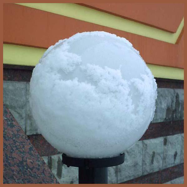 """photo """"Depressive Globe"""" tags: architecture, landscape, winter"""