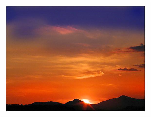 """фото """"Sunset colors"""" метки: абстракция,"""