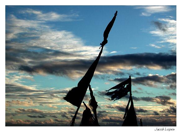 """фото """"the wind is blowing"""" метки: пейзаж, закат, облака"""