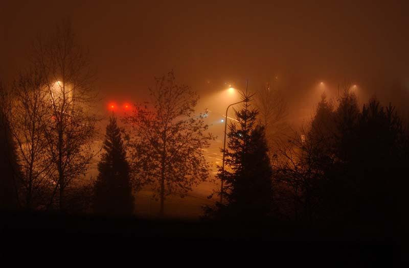 "photo ""Tuman, Noch"" tags: landscape, night"