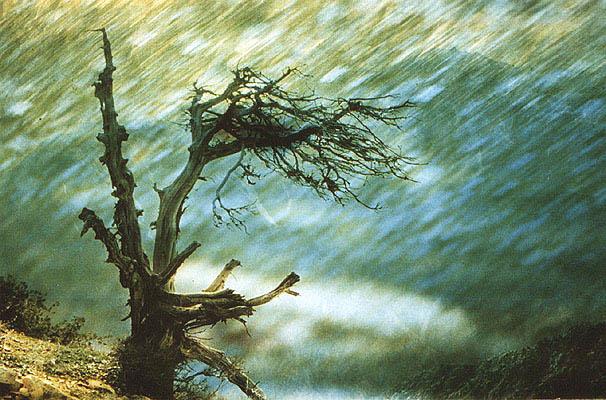 """photo """"Rain"""" tags: montage, landscape, mountains"""