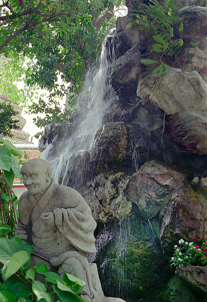 "photo ""The stone monk"" tags: travel, landscape, Asia, water"