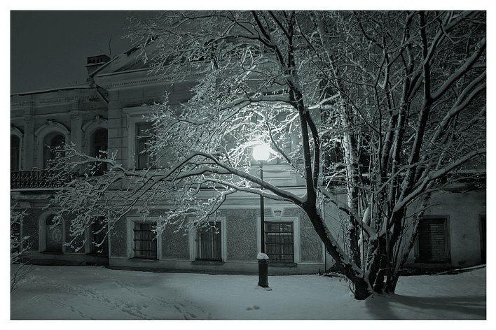 """фото """"Зимний свет"""" метки: архитектура, пейзаж, зима"""