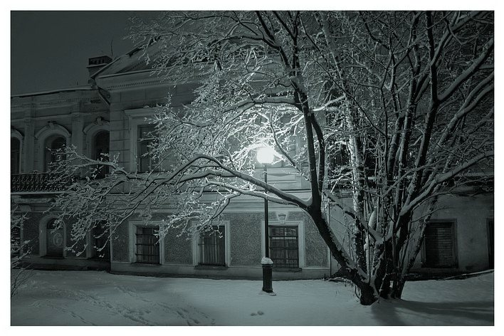 "photo ""Winter light"" tags: architecture, landscape, winter"