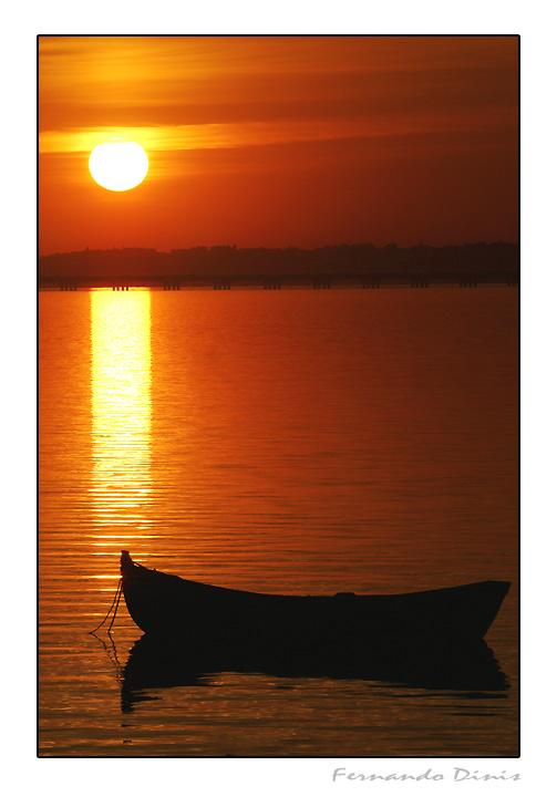 "фото ""Rest in red"" метки: пейзаж, вода, закат"