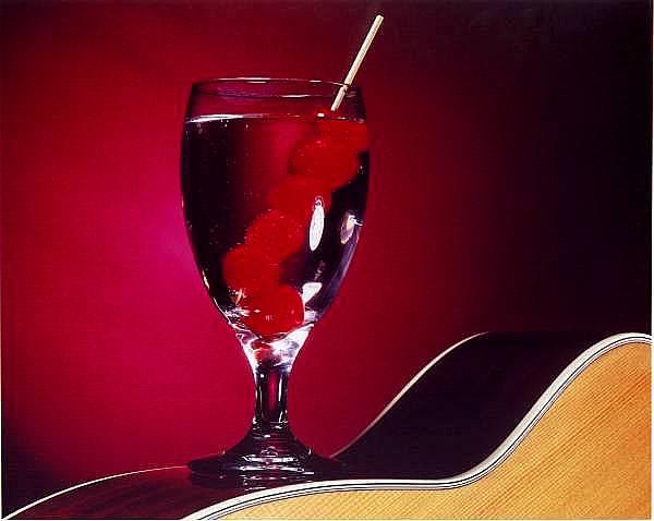 "фото ""Cherries & Guitar"" метки: разное,"