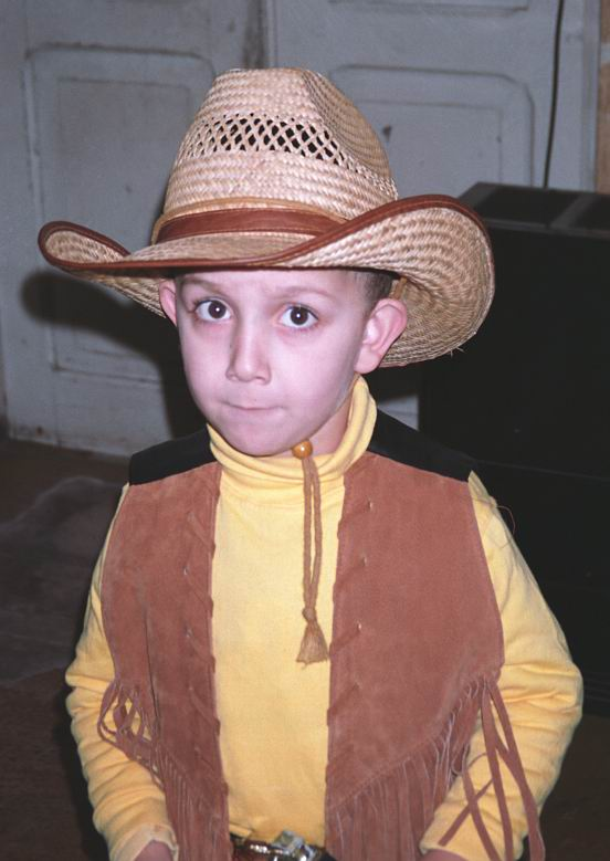 "photo ""Jouth cowboy!"" tags: portrait, children"