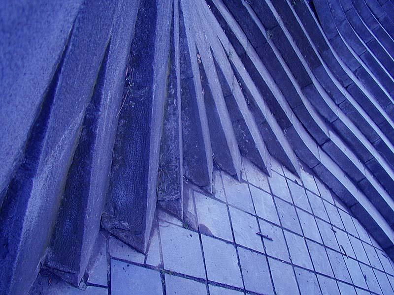 "фото ""Синий абсурд"" метки: разное, архитектура, пейзаж,"