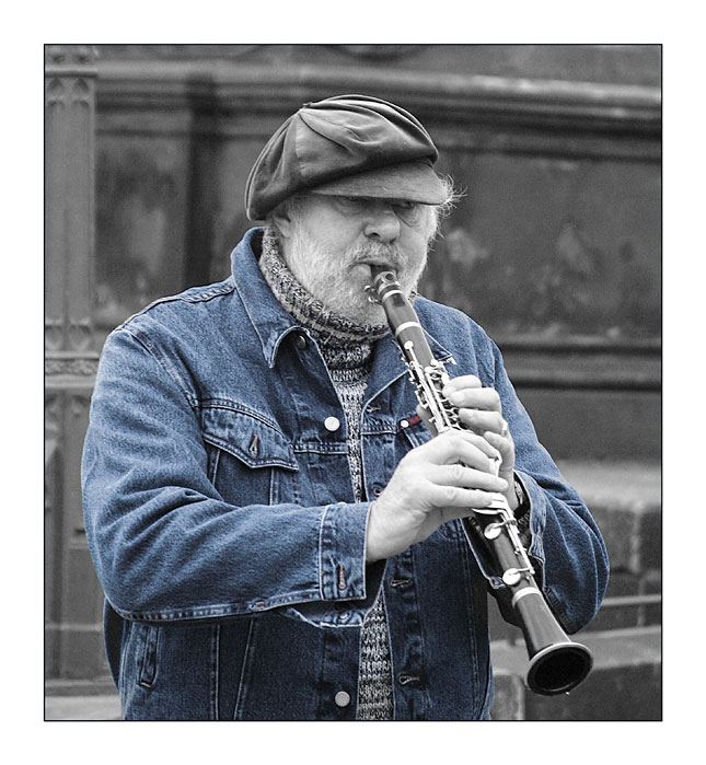 "photo ""A Clarinettist"" tags: portrait,"