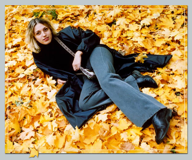 "photo ""Autumn"" tags: portrait, woman"