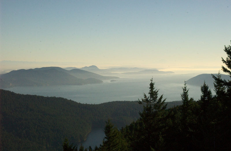 "photo ""San Juan islands 1"" tags: landscape, travel, North America, water"
