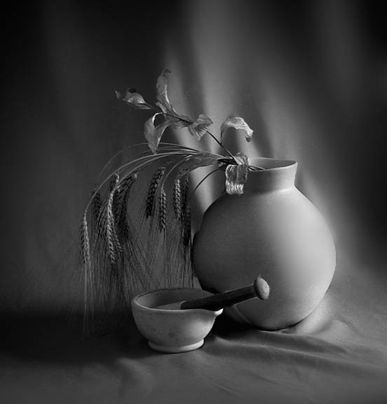 "фото ""Still Life with Morter & Pestle"" метки: натюрморт,"