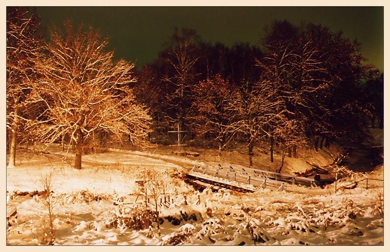 "фото ""Дорога в сказку II"" метки: пейзаж, зима, ночь"