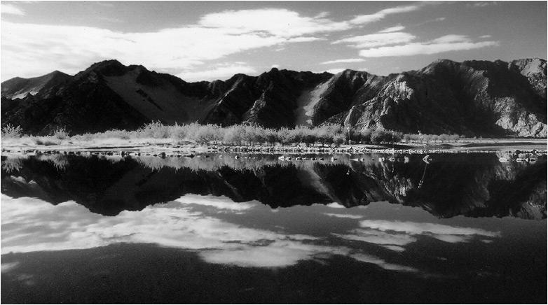 """фото """"В горах Тибета #5"""" метки: пейзаж, вода, горы"""