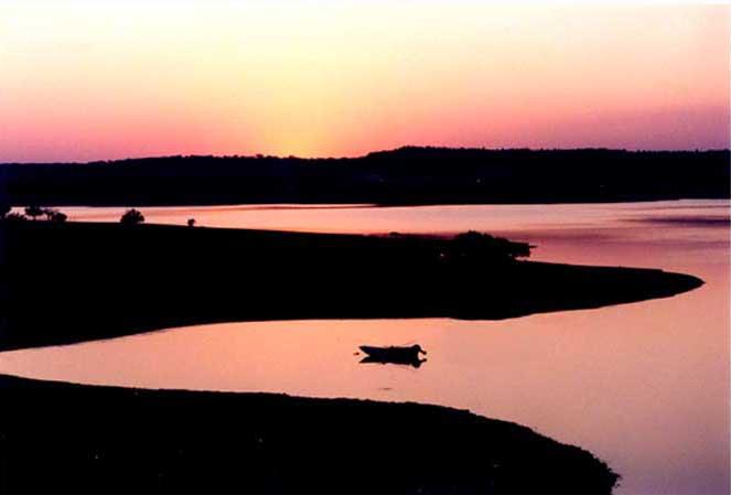 "фото ""Another day."" метки: пейзаж, вода, закат"