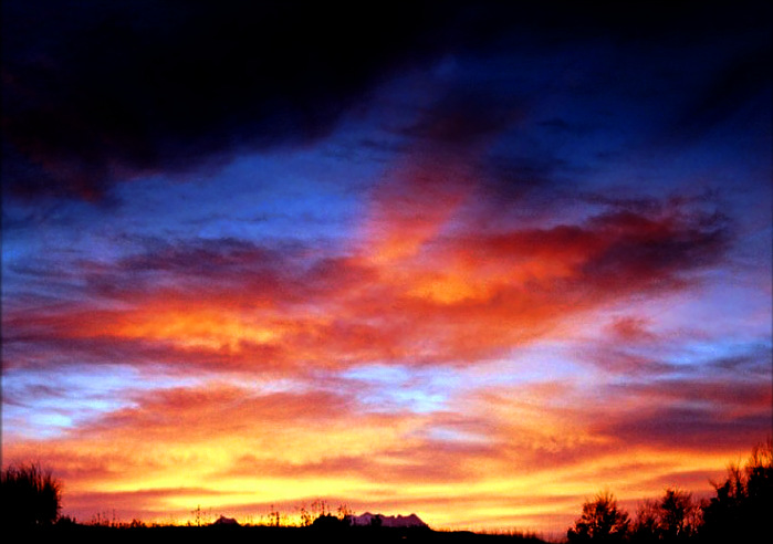 """фото """"Эос"""" метки: пейзаж, закат, облака"""