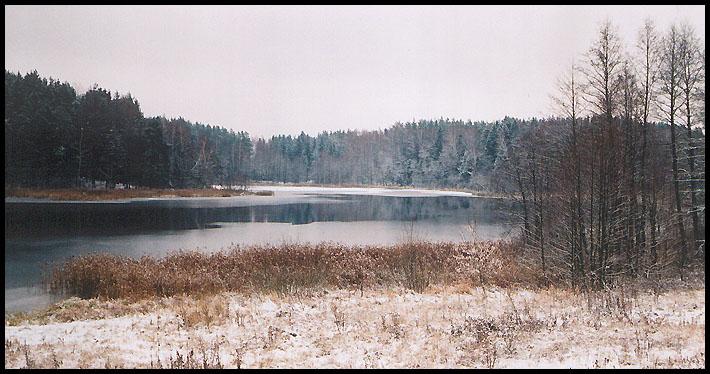 """фото """"Замерзает"""" метки: пейзаж, зима"""