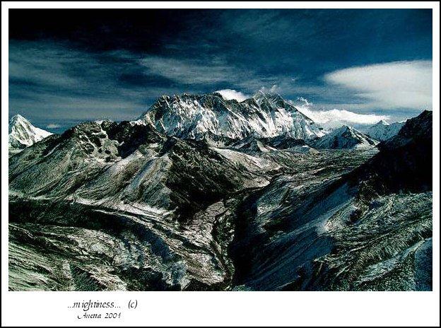 "фото ""...mighitiness..."" метки: пейзаж, горы, зима"