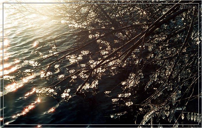 """фото """"Хрустальные капли"""" метки: пейзаж, вода, зима"""
