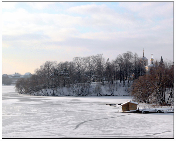 "photo ""Winter day near Moscow"" tags: landscape, nature, winter"