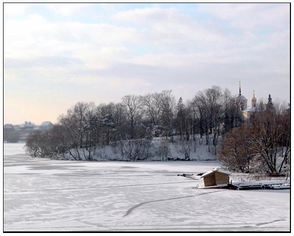 """фото """"Зимний день под Москвой"""" метки: пейзаж, природа, зима"""