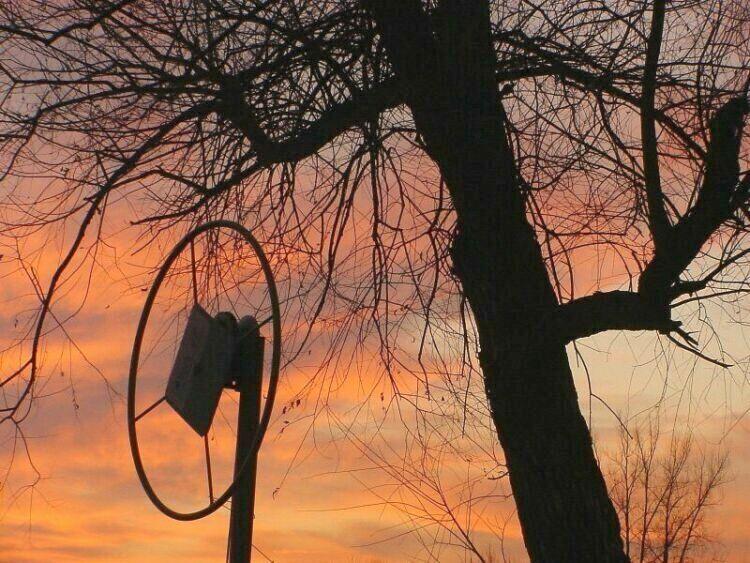 """фото """"A Minnesota Sunset"""" метки: пейзаж, абстракция, закат"""