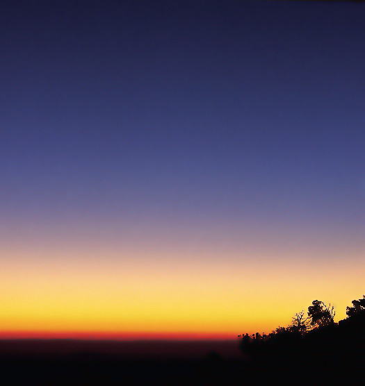 "photo ""nightfall"" tags: landscape, summer, sunset"