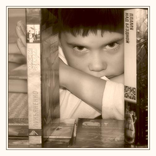 """photo """"The space psychologist"""" tags: genre, portrait, children"""