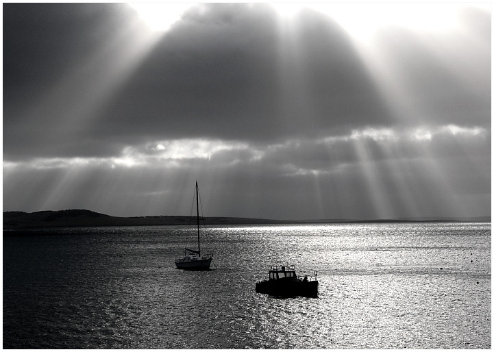 "photo ""Morning Rays"" tags: travel, landscape, Australia, water"
