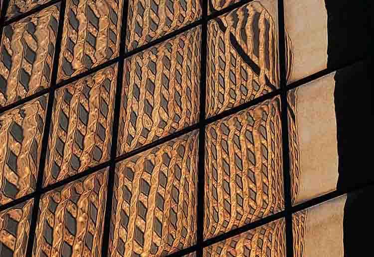 """фото """"skyscraper reflections"""" метки: абстракция,"""