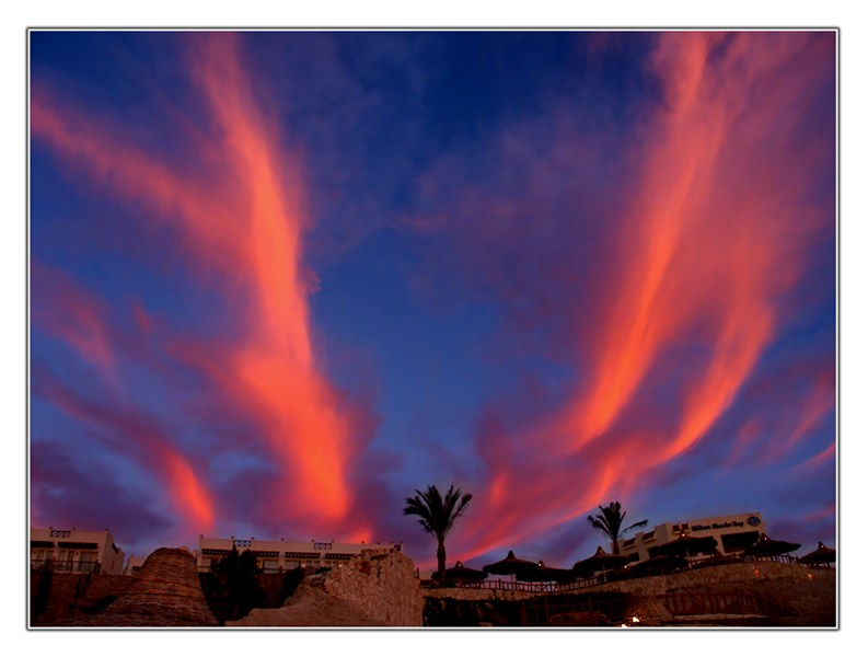 "фото """"Крылья"""" метки: пейзаж, закат, облака"