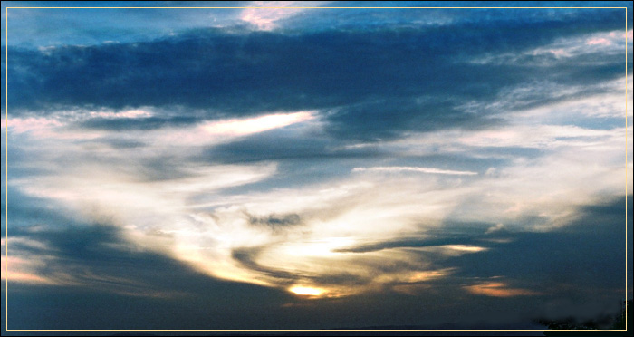 "photo ""THE WIND"" tags: landscape, clouds, sunset"