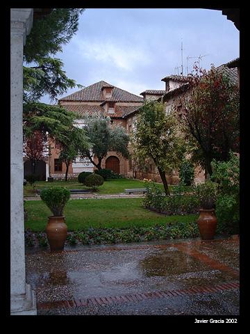 """photo """"Patio"""" tags: landscape, architecture, autumn"""