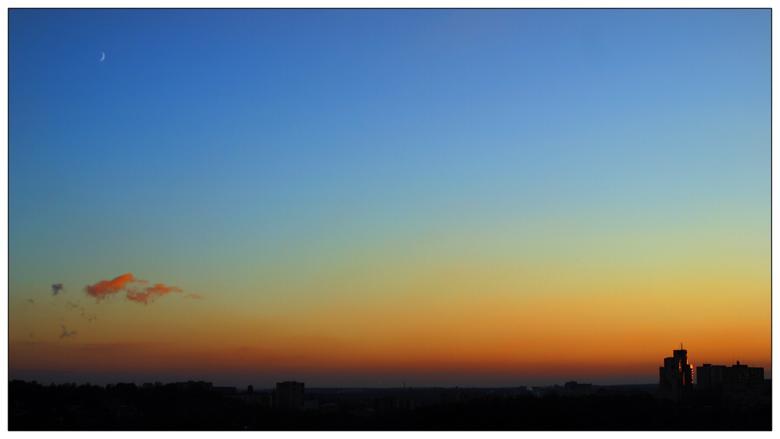 """фото """"Декабрьское..."""" метки: пейзаж, архитектура, закат"""