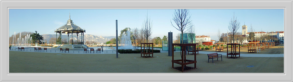 "photo ""The Town Park of Valence"" tags: travel, Europe"
