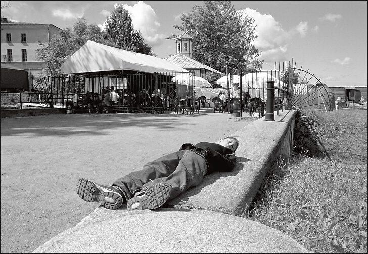 """фото """"Петергофский этюд"""" метки: путешествия, жанр, Европа"""