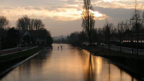 "фото ""Winter near Holland"" метки: природа,"
