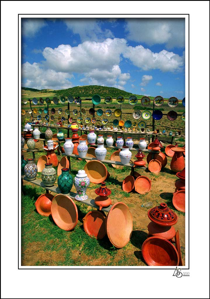 "photo ""Morocco ceramics"" tags: misc.,"