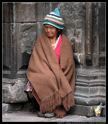 """фото """"Старый Кито"""" метки: портрет, женщина"""