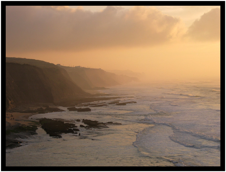 "фото ""Foggy afternoon"" метки: пейзаж, вода, закат"