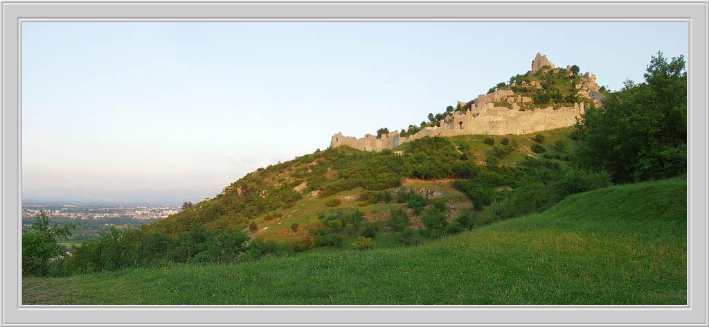 "photo ""Le Chateau de Crussol"" tags: travel, Europe"