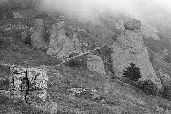 """фото """"Долина Приведений"""" метки: пейзаж, горы"""