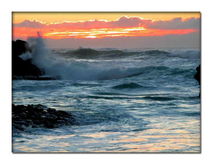 "photo ""Fury"" tags: landscape, sunset"
