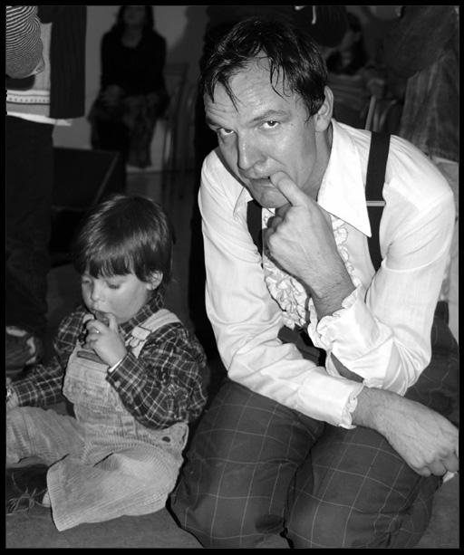 """фото """"The juggler and the kid"""" метки: портрет, мужчина"""