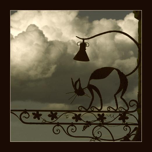 """фото """"Черный Кот"""" метки: путешествия, абстракция, Европа"""