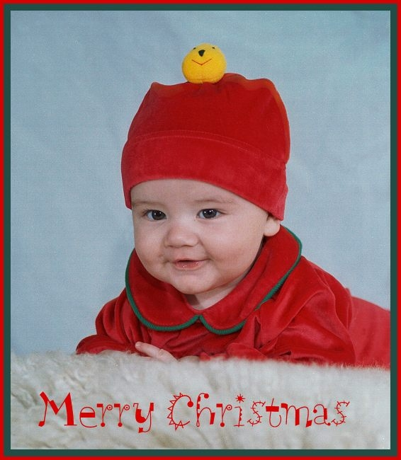 "photo ""Merry Christmas to All"" tags: portrait, misc., children"