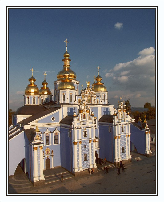 """photo """"Michael`s cathedral"""" tags: travel, architecture, landscape, Europe"""