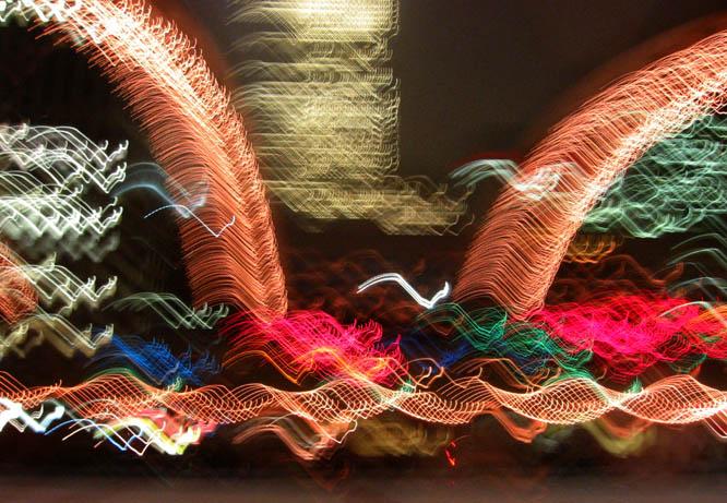 "фото ""cavalvade of lights"" метки: абстракция, архитектура, пейзаж,"